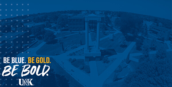 Be Blue. Be Gold. Be Bold. UNK. Desktop wallpaper version 2.