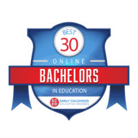 *2019 Best 30 Online Bachelors in Education - Early Childhood Education - Ranked 9th