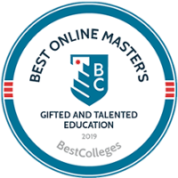 Best Online Master's Gifted and Talented Education - Ranked 8th