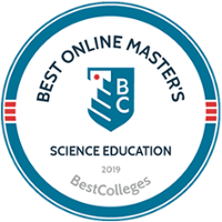 Best Online Master's Science Education - Ranked 8th