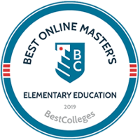 Best Online Master's Elementary Education - Ranked 16th