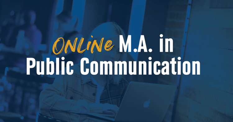 UNK Launches Online M.A. in Public Communication