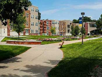 Antelope and Nester North Residence Halls