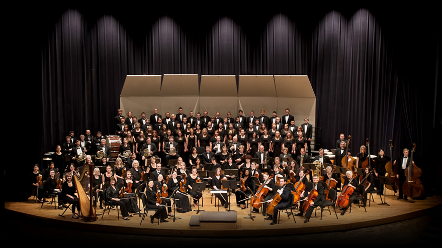 Photo of entire Kearney Symphony Orchestra