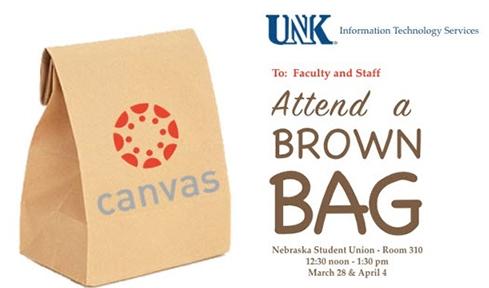 Canvas Brown Bag  Photo