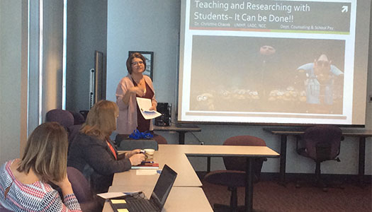 College of Education Excellence in Teaching and Research Forum