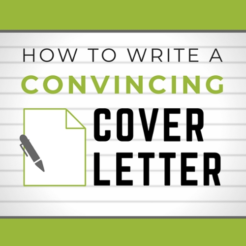 How to Write a Convincing Cover Letter Photo