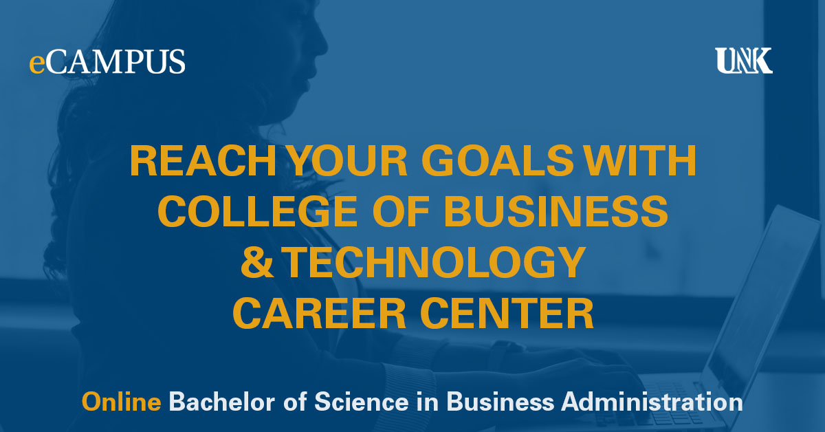 Reach Your Goals with College of Business & Technology Career Center Photo