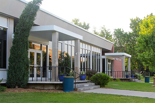 The Memorial Student Affairs Building