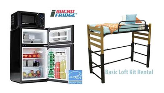 Microfridge. Basic Loft Kit Rental